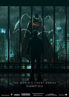 Superman/Batman - World's Finest - Poster (1.1) by dDsign on DeviantArt