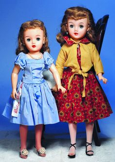 337: TWO MISS REVLON DOLLS BY IDEAL. Marks: Ideal Dol : Lot 337 Fabulous girls with such different expressions