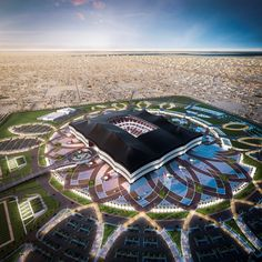 Qatar has revealed designs for a new stadium, the second of its World Cup 2022 venues to be announced. The Al Bayt stadium in Al Khor City Futuristic City, Futuristic Architecture, Amazing Architecture, Futuristic Technology, Doha, Soccer Stadium, Football Stadiums, Sport Football, World Cup 2022
