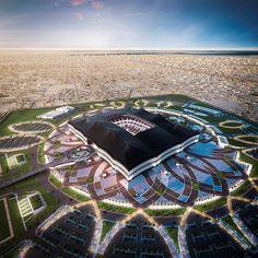Qatar Unveils Designs for Second World Cup Stadium