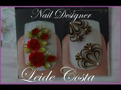 Rosinha vermelha inspirada na Cristina Aureliana Nail Designer, Nail Arts, Hair Beauty, Cristina, Nails, Blog, Nail Jewels, Nail Stickers, Nail Wraps