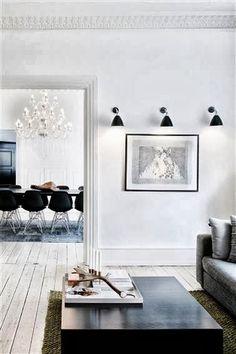 Cool Chic Style Fashion: Home of fashion, Tranquillità minimalista! White Interior, House Design, Home Goods Decor, Home And Living, Interior Design, Interior Spaces, Home Decor, House Interior, Home Deco