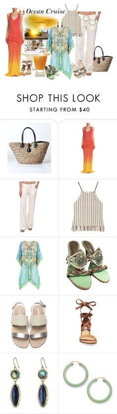 """""""Ocean Cruise"""" by neicy-i ❤ liked on Polyvore featuring Young, Fabulous & Broke, Billabong, Miguelina, ELIZABETH HURLEY beach, Giuseppe Zanotti, Steve Madden, Lauren Ralph Lauren and Palm Beach Jewelry"""