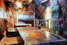 Kengo Kuma and Associates' Colorful Cable-Adorned Yakitori Bar: In the suburban town of Kichijoji just outside of Tokyo, architecture practice Kengo Kuma and Kengo Kuma, Mexico City Restaurants, Tokyo Restaurant, Restaurant Design, Bar Image, Cable Cover, Wire Cover, Breaking Bad, Ways To Recycle