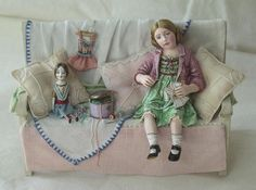 Dolls by Gale Elena Bantock