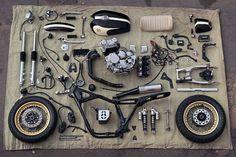 Cafe Racer Pasión — Yamaha XJ400 Cafe Racer by Gazzz Garage - Images...