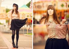 Glamorous Uk Sequin Dress, Jeffrey Campbell Litas | Sparkle Pony (by Michelle Elizabeth R) | LOOKBOOK.nu