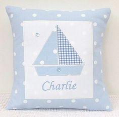 Personalised Spotty Cushion - soft furnishings