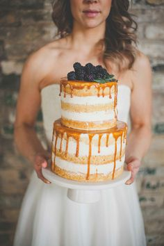 Honey Theme Wedding Ideas cake