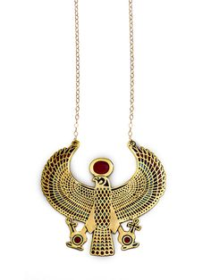 Horus Pendant Necklace by Robyn Rhodes at Gilt