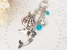 Silver Sea Creatures Filofax Charm or Planner Charm by PrettySang, $10.90