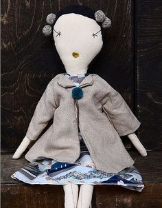 Beautiful, hand made and completely unique rag doll. This rag doll features a…