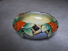 Vintage Art Deco Lustreware Bowl Japan 1930's Seiei Mark Handpainted Lusterware   eBay Art Deco Kitchen, Vintage Planters, Vintage Glassware, Luster, Vintage Art, 1930s, Porcelain, Hand Painted, China