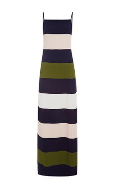 Large Stripe Gown by Peter Som for Preorder on Moda Operandi