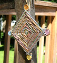 Camp Crafts: Gods Eye - Crafts by Amanda