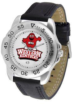 NCAA Men's Western Kentucky Hilltoppers Sport Watch
