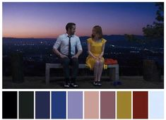 Image may contain: 1 person Movie Color Palette, Colour Pallette, Light Cinema, Color In Film, Por Tras Das Cameras, Damien Chazelle, Cinema Colours, Color Script, Mood And Tone