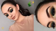 In this video I created a makeup look using the new Anastasia Beverly Hills Subculture eyeshadow palette! Silver Glitter Eye Makeup, Bronze Eye Makeup, Makeup Blog, Makeup Geek, Abh Subculture Palette, Anastasia Subculture, Green Eyes Pop, Smokey Eye Makeup Tutorial, Makeup Challenges