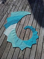 Ravelry: HDC Dragon Tail Scarf pattern by Linda Styles