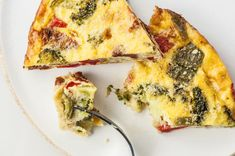 Crustless Vegetable Quiche - Healthy Breakfast Recipes