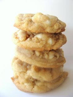 white chocolate and butterscotch chip cookies (also helpful cupcake baking tip)