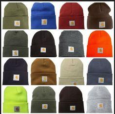 Carhartt Hat Men Unisex Women Winter Warm Knit Carhart Beanie Snow Cool Cap Gift