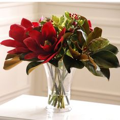 Jane Seymour Botanicals 20 in. Magnolias Silk Flower Arrangement >>> Check out this great product.
