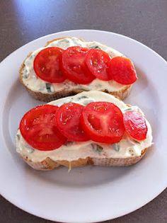 Tomato Sandwich with Basil Mayonaise