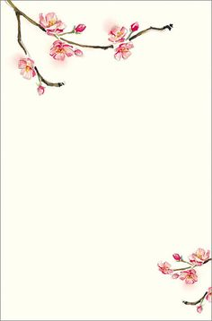 cherry blossom invitations template xMdEAelF