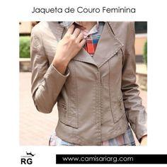 Mais de 80 modelos em Promoção! Frete Grátis! COMPRE AGORA www.camisariarg.com/jaqueta-de-couro-perfecto-feminina-09-30c.html