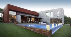 House with pool in Madrid, Spain by Cirqlar [1200x625] - Cool Houses Pictures And Dream Home Unique Designs, Big, Medium Size And Small House Design Ideas
