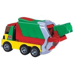 Toddlers and Toys! Bruder Roadmax Toddler Garbage Truck from Educational Toys Planet Toddler Toys, Kids Toys, German Toys, Trash Containers, Educational Toys For Toddlers, Play Vehicles, Black Friday Specials, Farm Toys, Garbage Truck