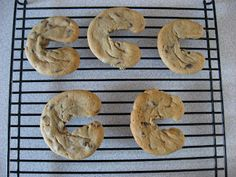 C is for Cookie - C shaped cookies!!