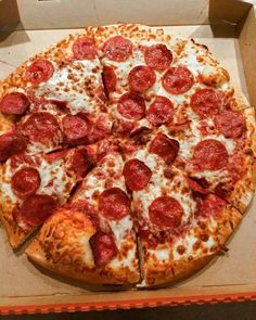 Whatever happens there will always be pizza.