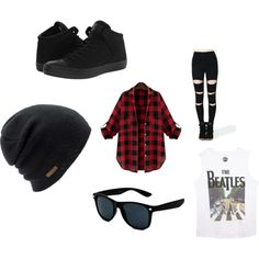 A fashion look from September 2015 featuring Wet Seal tops, Converse sneakers and Coal hats. Browse and shop related looks.