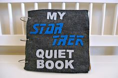 julies blog: My Star Trek Quiet Book. You can buy the pattern on etsy for $10.