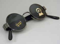 """john lennon"" sunglasses John Lennon Sunglasses, Wire Frame, Mood, Leather, Vintage, Accessories, Glasses, Vintage Comics"