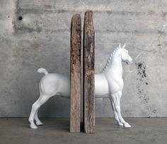 Hackney Sculpture Horse Bookend. $120.00, via Etsy.
