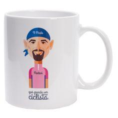 Taza Marco Pantani #ciclismo #mug #cycling