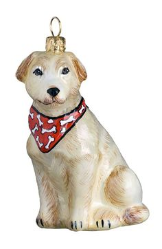 Joy to the World Collectibles Yellow Lab Ornament available at #Nordstrom