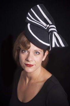 Myrna Pillbox hat by StarlingMillinery on Etsy