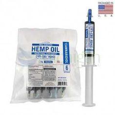 6 Pack Real Scientific Hemp RSHO Oil CBD Oil 18% (blue) Decarboxylated 10,800MG cannabidiol CBD per pack - Michigan Herbal Remedies