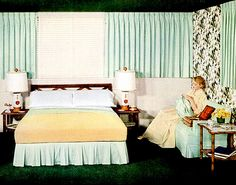 Bedroom (1952) Cannon ad
