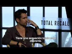 Colin Farrell en entrevista sobre Total Recall con Alex Medela