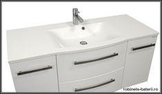 Mobilier baie suspendat Wave 120 cm, alb Double Vanity, Bathroom, Washroom, Bathrooms, Bath, Bathing, Bath Tub