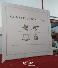 #constitutionroad #robertsonwinery Wall Banner, Exhibition Display, Banner Printing, Lead Time, Banners, Prints, Expo Stand, Banner, Posters