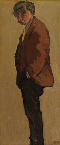 Kyffin Williams self portrait                                                                                                                                                      More