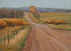 Autumn Drive by Edward Kennedy Pastel ~ 18 x 24