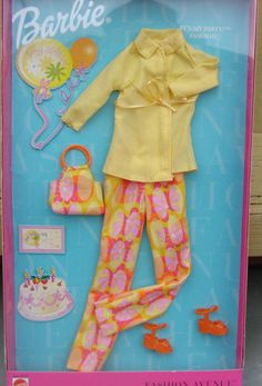 Barbie Fashion Avenue Charm Styles 'It's My Party' Fashion 2001 25702 NRFP | eBay