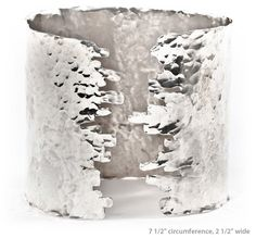Tiffany Kunz hammered cuff